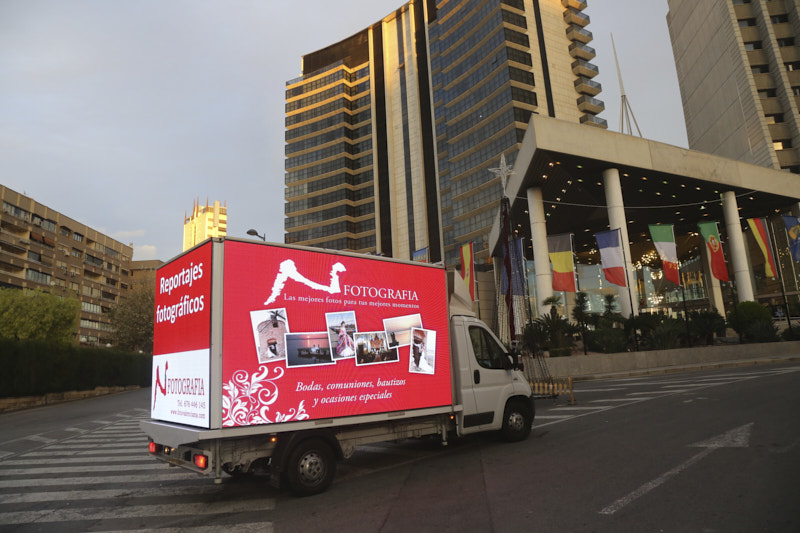 Camion LEDmovil Pantalla-Gigante